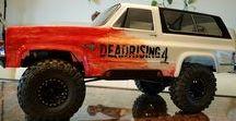 Vaterra Ascender / Vaterra Ascender Blazer K5 - Dead Rising 4 & Vaterra Ascender Jeep Comanche