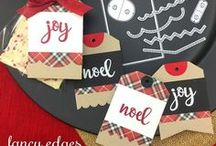 Fancy Edges Tag Die Set / Create your own custom tag shapes with this fun set!