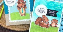 Papa Bear - Father's Day Stamp Set