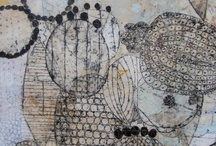 Drawing / inspiration for abstract drawing / by Pattie Belle Hastings
