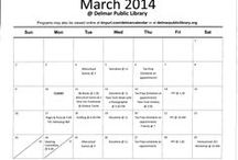 Delmar Library Calendars / Find out what is going on at the Delmar Public Library.