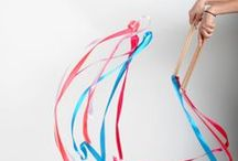 Ribbon wands - Gymnastics ribbons for kids