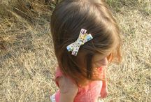 Girls' hair clips, headbands and organizers