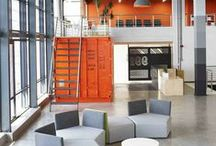 Workplace Design / Workplace interiors that inspire us