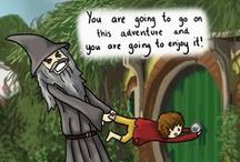 Middle-earth Humor / Because everyone knows that MY fandom is the most hilarious. ;)