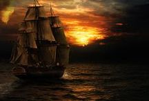 Storyboard: Song of a Pirate / Fantasy novella. Singing pirate captains. Gypsies. Selkies. A lost prince. A voyage to a forgotten island in search of lost memories.