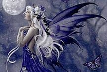 Faerie and Fantasy / Otherworldly beauty with a touch of fantasy and the magic of a tale untold.