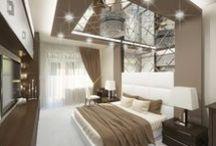 Дизайн спальни в Белгороде. Bedroom Interior Design.