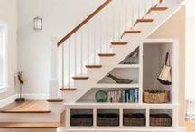 stairs / Drewniane, szklane, metalowe, kolorowe... niepowtarzalne. /// Wooden, glass, metal, colorful ... unique.