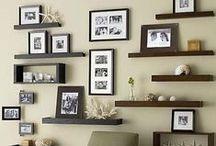 Wall shelves & brackets