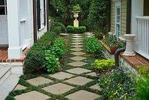 amazing garden / Zieleń, kwiaty, drzewa, śpiew ptaków... /// Greenery, flowers, trees, birds singing...
