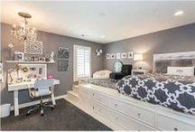 child's/teen room / Jaka jest jedna z największych potrzeb nastolatka? Posiadanie osobistej przestrzeni. /// What is one of the greatest need of a teenager? Having a private space.