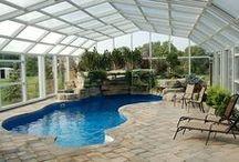 indoor swimming pool / Miejsce relaksu, ale także intensywnego wysiłku fizycznego - od Ciebie zależy jak je wykorzystasz! :) /// A place of relaxation, but also intense exercise - depends on you how you use it! :)