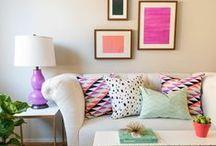 colorful decor accessories / Kolorowe dodatki i akcesoria ożywią każde wnętrze! /// Colorful decor accessories brighten any kind of interior!