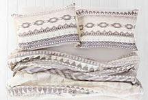 bedding / Piękna sypialnia, dobrane dodatki... w tym przepiękna pościel! /// Beautiful bedroom, attuned accessories... including lovely bedding!