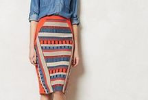 Wardrobe Skirts / All kinds of fun and attractive skirts and details.