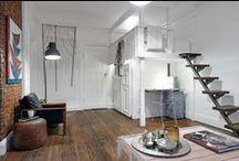 studio apartment / Świetne pomysły na urządzenie małych przestrzeni! /// Great ideas for arranging small space!