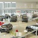 Toyota Dealership Interior Design, Belgorod, Russia. Дизайн интерьера автосалона TOYOTA.