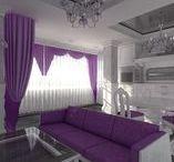 Living Room Interior Design, Belgorod, Russia. Интерьер квартиры в г. Белгороде
