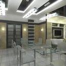 Dining Room Interior Design, Belgorod, Russia. Интерьер квартиры в г. Белгороде
