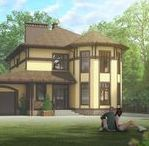 2-Floor, 5-Bedroom Cottage in Belgorod / Индивидуальный 2-этажный 5-комнатный жилой дом