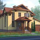 Двухэтажный четырёхкомнатный жилой дом в пгт. Ракитное