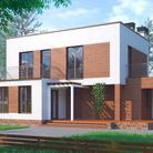 Modern 2-storey house in Moscow region