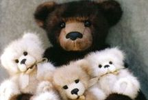 Teddy Bears and friends / by Glenda (Higa) Worne