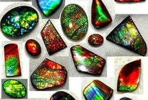 rocks and gems / by Glenda (Higa) Worne