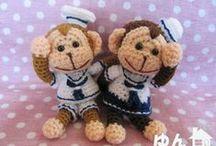 Japanese amigurumi crochet / by Glenda (Higa) Worne