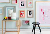 FEMININE DECOR / ☮ Feminine colour ways, peppy styles and pops of colour. The perfect home decor inspiration for spring and summertime colour lovers ☮