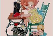 antique / vintage pin cushions and sewing emphimera / by Glenda (Higa) Worne