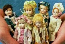 miniature dollhouse crochet and toys / by Glenda (Higa) Worne