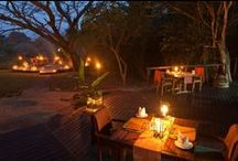 Dining Outdoors / Breakfast, Lunch, Dinner and Night Lights