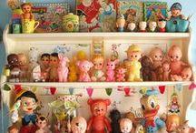 Collectible doll & toy displays / by Glenda (Higa) Worne