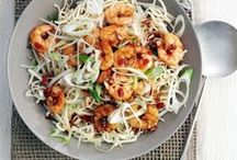 Low FODMAP Seafood Recipes / A selection of our favourite Low FODMAP Seafood recipes from www.ibssano.com