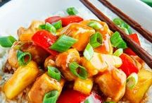Asian Inspired Low FODMAP Recipes / Asian food is often ideal for Low FODMAP adaptation.  We have also tried to select light and healthy options for you to enjoy throughout the week, guilt free.