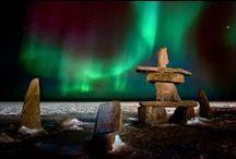 Aurora Borealis in Churchill, Manitoba