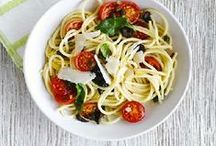 Low FODMAP Pasta Recipes / A selection of gluten free pasta recipes from IBS Sano: http://www.ibssano.com/low_fodmap_recipes.html