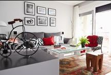 Salones · Comedores · Living rooms · Dining rooms · Salas