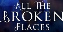 Book 1: All the Broken Places / ALL THE BROKEN PLACES, the first book in The Healing Edge paranormal romance series, now available from Diversion Books! AniseEden.com/books