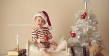 Christmas photography inspiration / photo Christmas baby