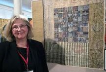 Judy Martin Teaching in Espanola 2016 / Local textile artist Judy Martins work - featured workshop facilitator at Espanola Fibre Arts Festival October 14, 2016