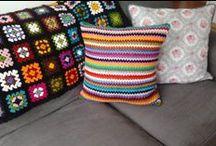 My Handwork / crochet, cross stitch, felt