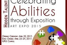 Art & Autism - Get Ready for Autism Art Expo! / Learn more about the expo: https://handsinautism.iupui.edu/conferences.html