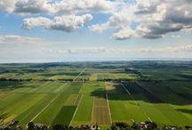 Landschappen / landschappen en straatbeelden, ook vanuit de lucht