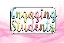 """Engaging Students / Ideas, tips, activities, lessons, games, and resources to help elementary teachers engage their students in the classroom.  Collaborators:  You must pin 4 """"evergreen"""" posts (blog posts, freebies) for every 1 product.  I will monitor this board regularly and remove you if you do not comply with rules.  It's important that we are helping teachers - not spamming them."""