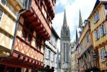 Quimper, Finistère, Bretagne / Les plus beaux paysages de la région de Quimper en Bretagne