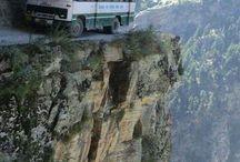 Mountains / cliffs