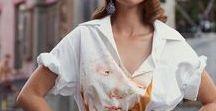 Poplin white shirt / Women's Fashion